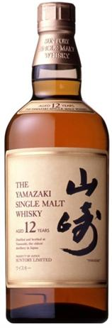 The Yamazaki Whisky Single Malt 12 Year